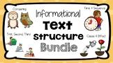 RI 3.3 & 3.8 Informational Text Structure Bundle
