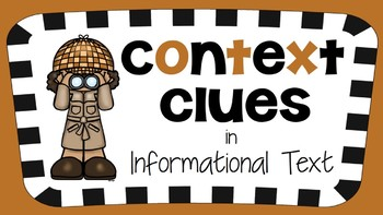 RI 3.4 PowerPoint: Context Clues