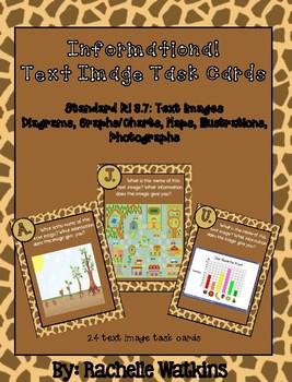 "RI 3.7"" Text Image Task Cards"