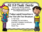 RI 3.8 Task Cards - Finding the Logical Connection with Te