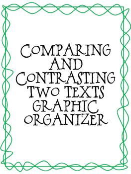 RI 3.9 Compare and Contrast Graphic Organizer