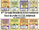 RI 4.1 - RI 4.9 Reading Informational Text Bundle (4th Grade CCSS Aligned)