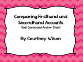 RI 4.6 Compare Firsthand and Secondhand Accounts