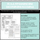 RI.4.6 Firsthand and Secondhand Accounts