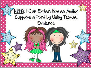 RI.4.8- PPT- HOW DOES AN AUTHOR USE REASONS AND EVIDENCE TO PROVE A POINT?