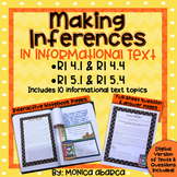 RI4.1/ RI4.4 & RI5.1/ RI5.4 Inferencing in Informational Text