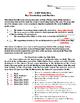 RI.5.2 Main Idea Vocabulary and Practice #2