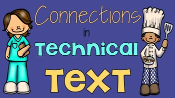 RI 5.3 Connections in Informational Text Bundle