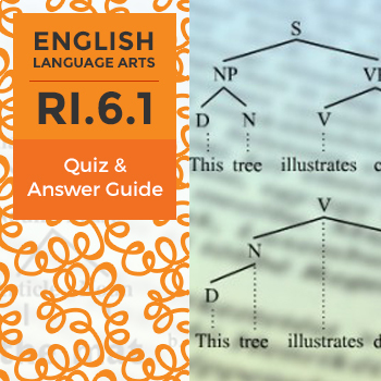 RI.6.1 - Quiz and Answer Guide
