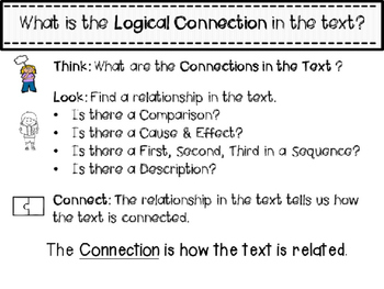RI 3.8 Finding Logical Connections with Text Structure