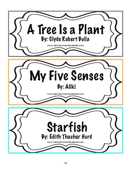 RI.1.10 First Grade Common Core Worksheets, Activity, and Poster