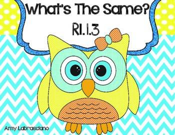 RI.1.3 What's The Same