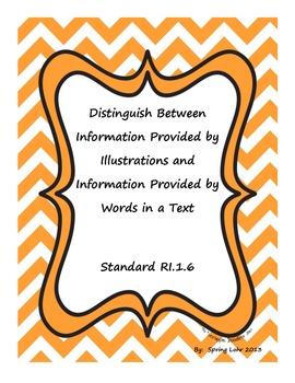 Distinguish Between Information in Illustrations vs. Text - RI.1.6