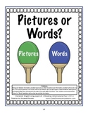 RI.1.6 First Grade Common Core Worksheets, Activity, and Poster