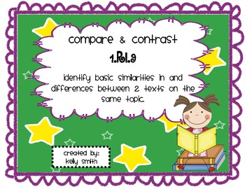 RI.1.9 Compare and Contrast Informational Texts