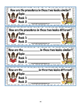 RI.1.9 First Grade Common Core Worksheets, Activity, and Poster