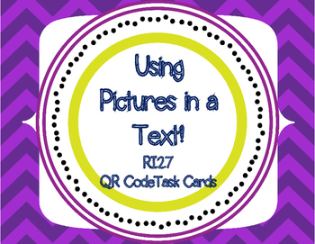 RI2.7 Using pictures in informational text