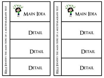 RI.2.2 Main Idea and Details