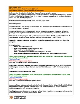 RI2.2 Main Idea and Details