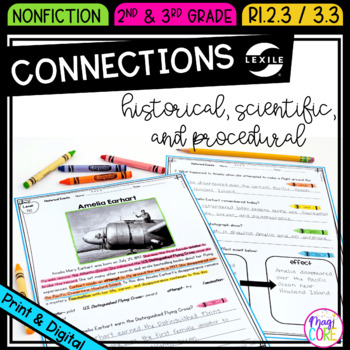 Connect Historical Events,Scientific Ideas, Steps in Procedures- RI.2.3 & RI.3.3