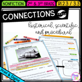 Making Connections - 2nd Grade RI.2.3 & 3rd Grade RI.3.3