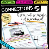 Making Connections - 2nd & 3rd Grade RI.2.3 RI.3.3 - Print