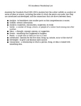 RI3 Information Text Analysis/Key