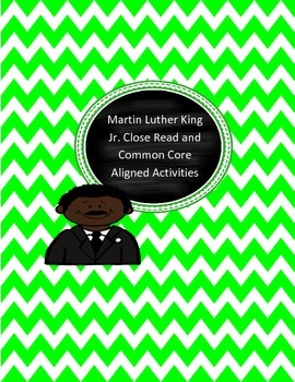 RI.3.3 Martin Luther King Jr. Integrated Unit (Common Core