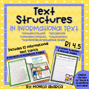 RI4.5/ RI 4.5 Text Structures