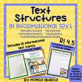 RI4.5/ RI 4.5 Text Structures (DIGITAL & PRINTABLE)