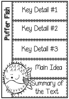 RI4.2/ RI 4.2 and RI5.2/ RI 5.2 Key Points, Main Idea, & Summary of Text