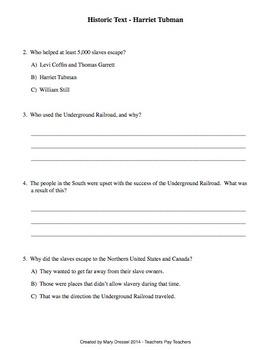 RI.4.3 historical text worksheet