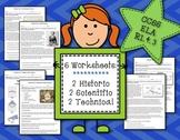RI.4.3 worksheets (set of 6)