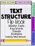 RI.4.5 or RI.5.5 Text Structure Flip Book