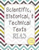 RI.4.3 / 4.RI.3 / Scientific, Historical, & Technical Text