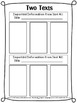RI.4.9 Fourth Grade Common Core Worksheets, Activity, and Poster
