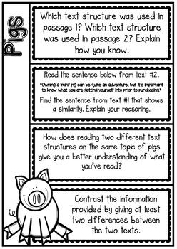 RI5.5/ RI 5.5 - Comparing & Contrasting Text Structures