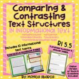 RI5.5/ RI 5.5 - Comparing & Contrasting Text Structures (D