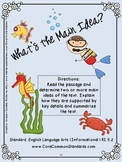 RI.5.2 Fifth Grade Common Core Worksheets, Activity, and Poster
