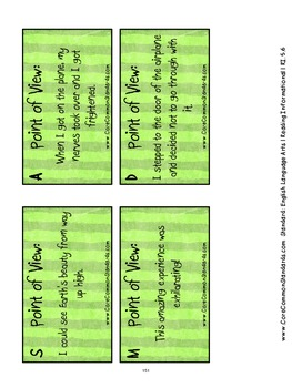 RI.5.6 Fifth Grade Common Core Worksheets, Activity, and Poster
