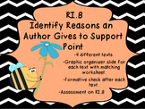 RI.8 Identify the reasons an author gives to support point