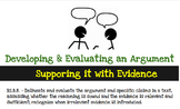 RI.8.8. - Developing and Evaluating an Author's Argument,