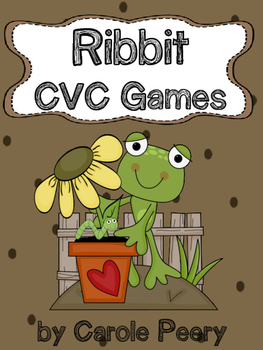 RIBBIT CVC Word Games