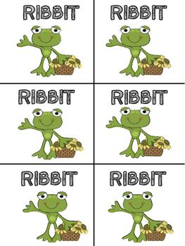RIBBIT CVCe Word Games