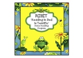 RIBIT 'Reading In Bed Is Terrific' Home Reading Incentive Program
