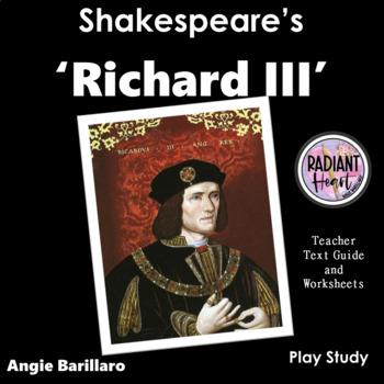 RICHARD III - SHAKESPEARE - WORKSHEETS