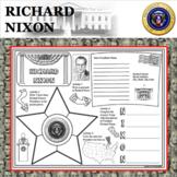 RICHARD NIXON POSTER U.S. President Research Project Biography