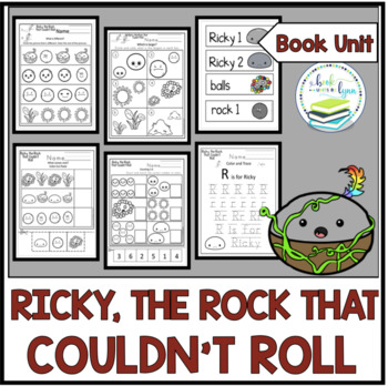 RICKY, THE ROCK THAT COULDN'T ROLL BOOK UNIT