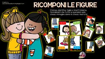 RICOMPONI LE FIGURE ( + & - entro il 20)