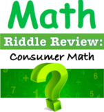 RIDDLE REVIEW - Percents in the Real World